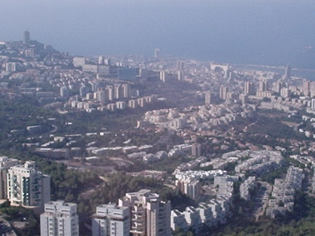 It is a Picture from Haifa University Tower.